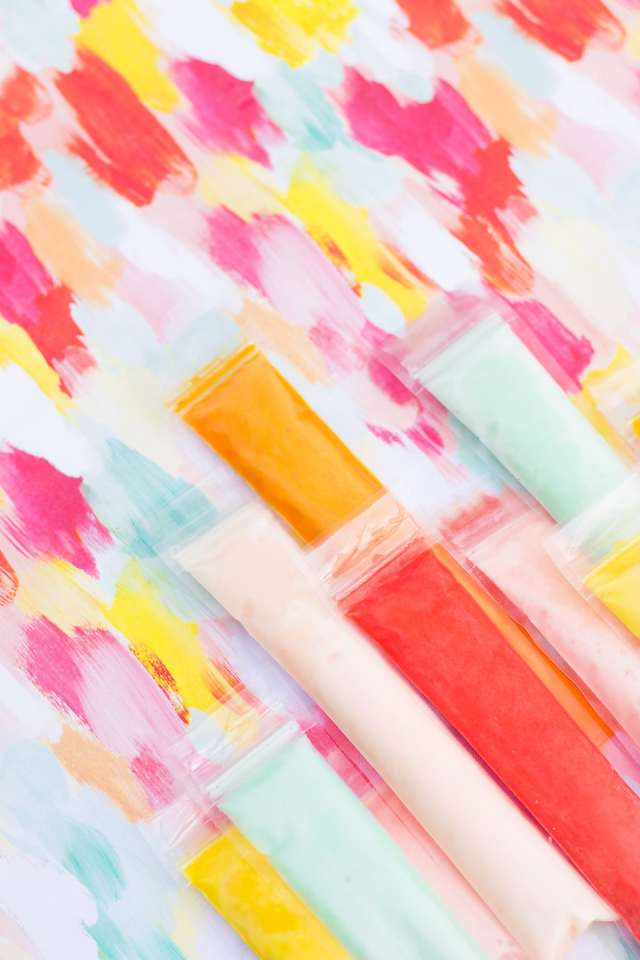 Because old school Summers do it best! Boozy coconut Fla-Vor-Ice pops recipe for the win! - sugar and cloth - cocktails