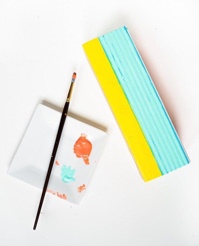 DIY Fruit Kabob Stand - Sugar & Cloth - DIY