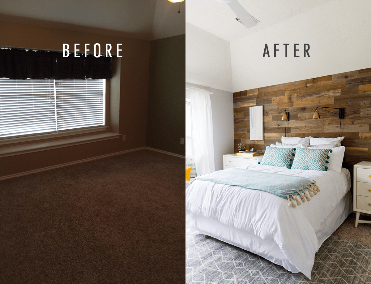 A Before and After Simple Bedroom Makeover for Zach ... on Makeup Bedroom  id=39269
