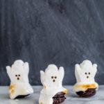 DIY Melting Ghost Halloween Macarons