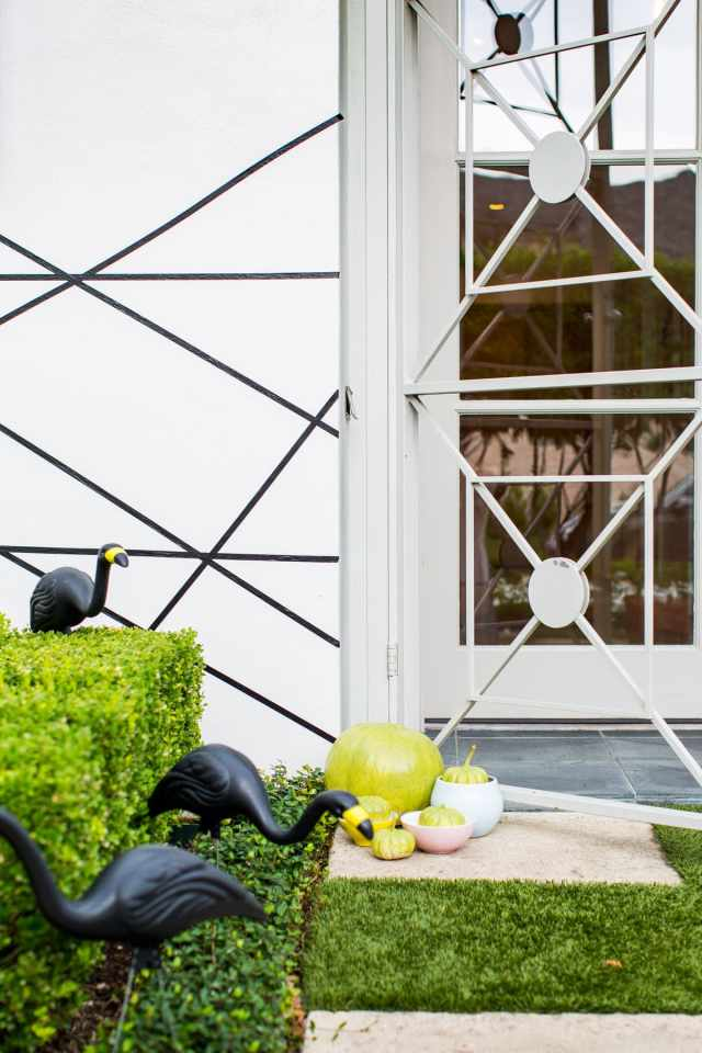 Palm Springs Inspired Halloween Decor