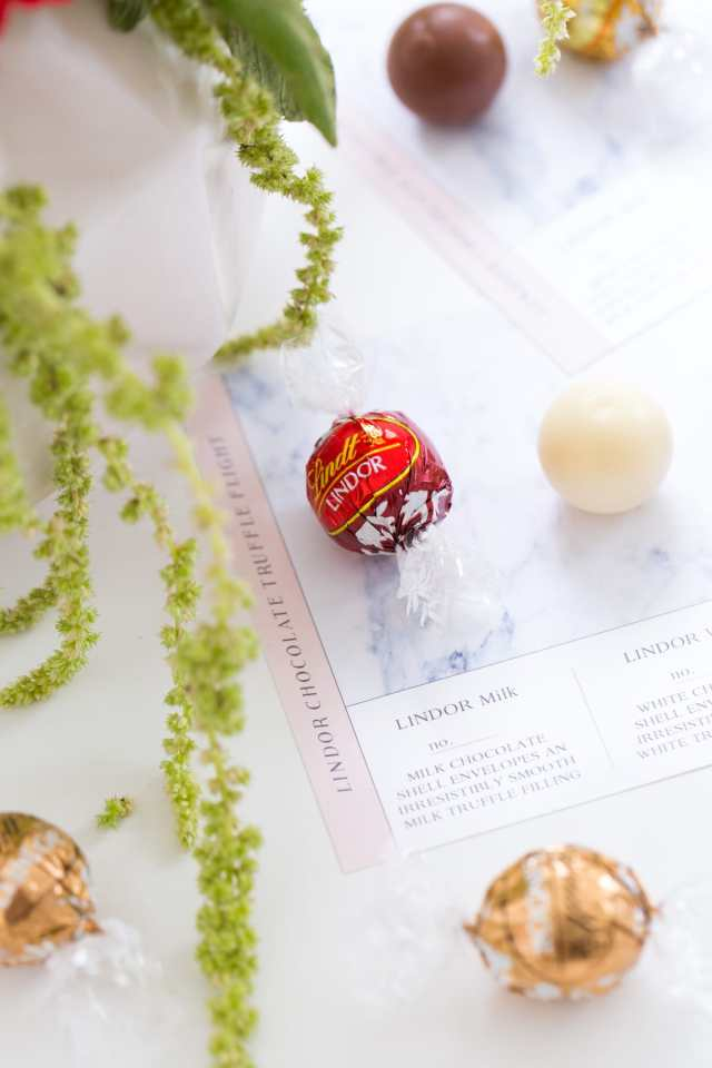 DIY chocolate truffle flight printables by Ashley Rose of top houston lifestyle blog, Sugar and Cloth
