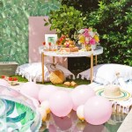 Luxe Poolside Entertaining