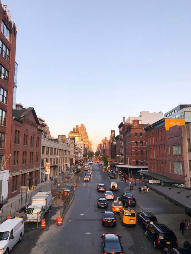 Photo from the Highline in NYC by top Houston Lifestyle Blogger Ashley Rose of Sugar and Cloth