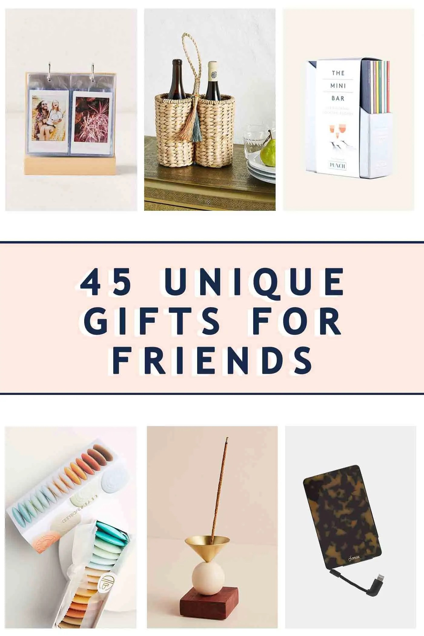 Best Friend Gifts 45 Unique Gifts For Friends Sugar Cloth