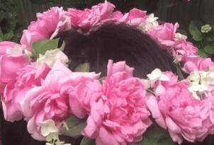 Rosen-Haarkranz
