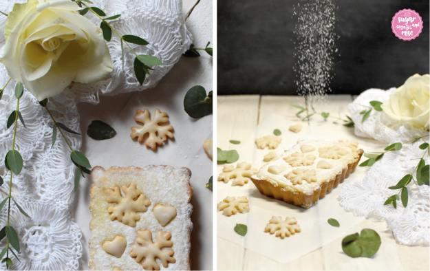 Blüten-Tarte-blanc-Duo