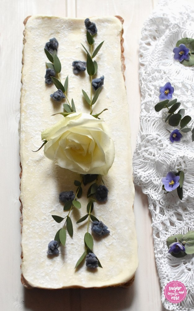 Blüten-Tarte-blanc
