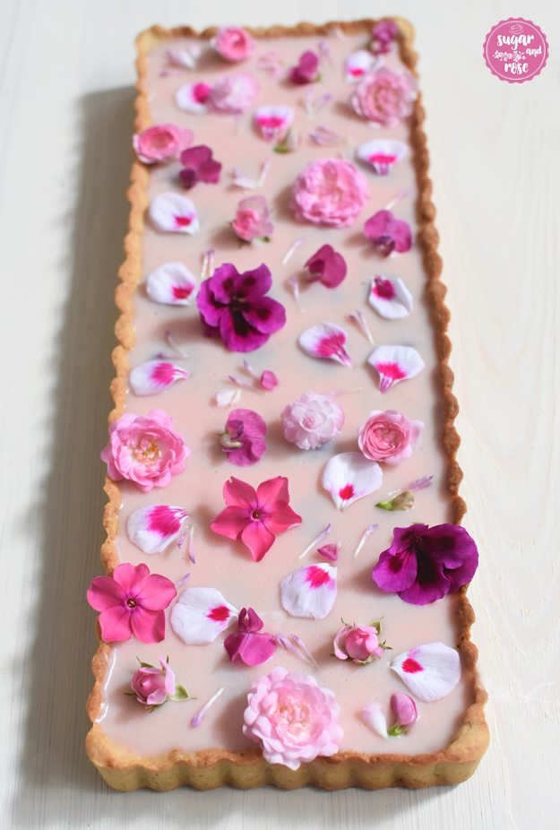 Blüten-Tarte