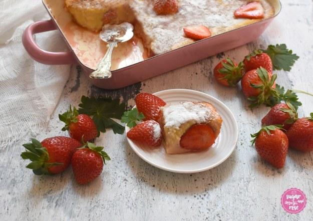 Warmer Erdbeerauflafu
