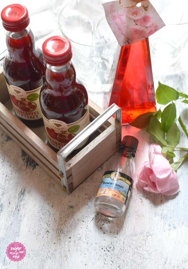 Granatapfel-Rosenwasser