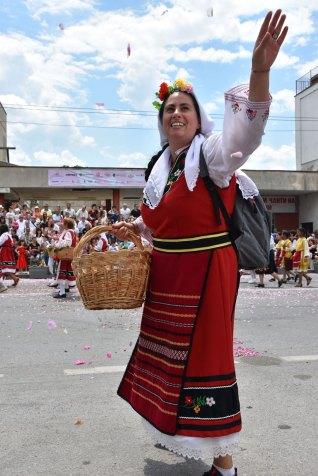 Rosenumzug in Kazanlak