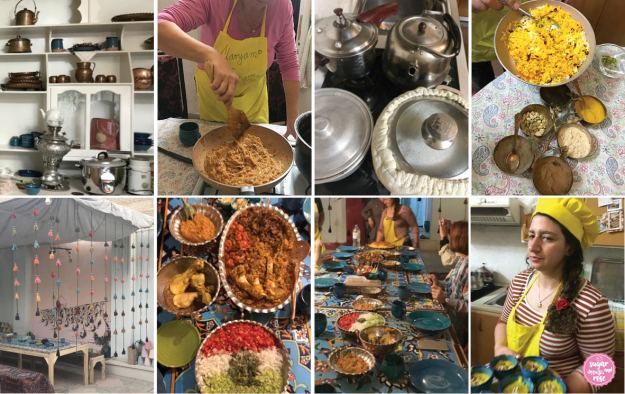 Maryam Persian Cooking Class,