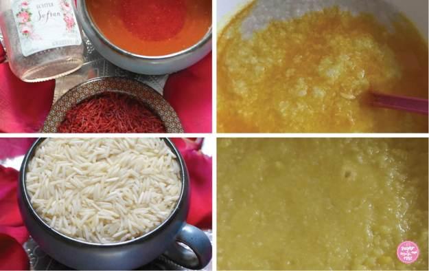 Safranreis kochen Schritt-für-Schritt-Anleitung