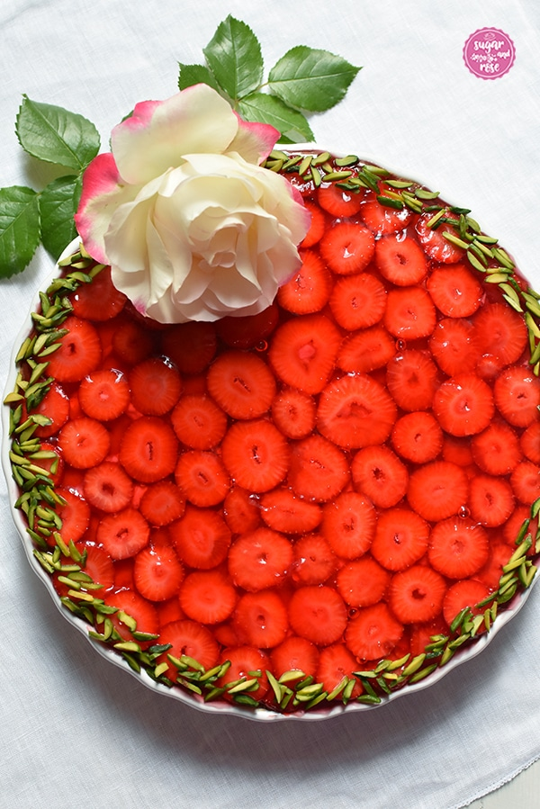 Erdbeer-Frangipane-Tarte