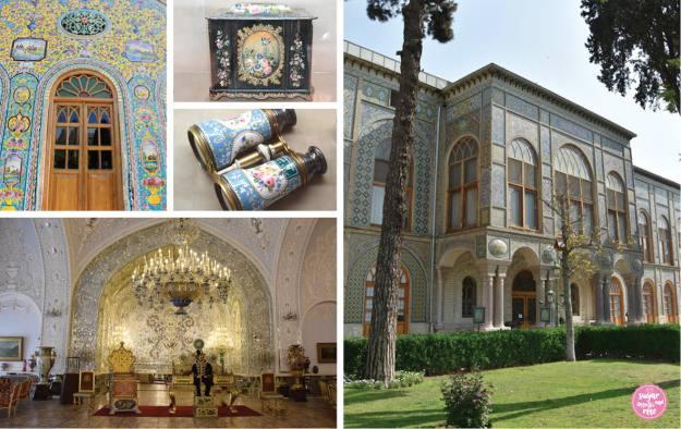 Golestan-Palast, Teheran, Rosen-Utensilien Museum