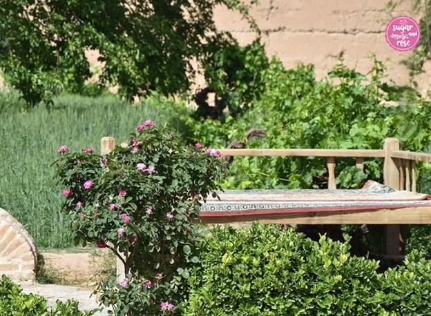 Dowlat-Abad-Garten, Persien und Rosen