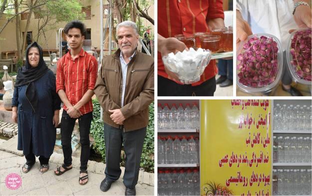 Rosenwasserproduktion Persien