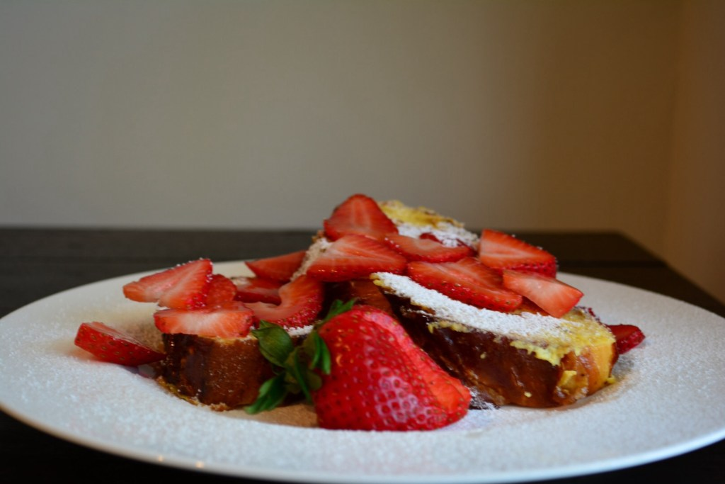 Coconut Milk and Challah French Toast