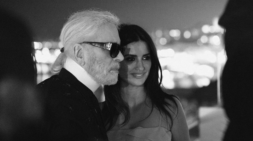 Penélope Cruz, la nueva musa de Karl Lagerfeld