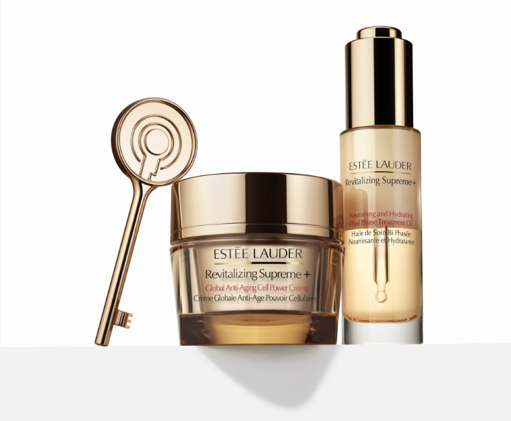 Revitalizing Supreme+Global Anti-AgingCellPowerCreme+NourishingandHydratingDualPhaseTreatmentOil_Product on White_Global ex Asia_Expiry June 2019_baj