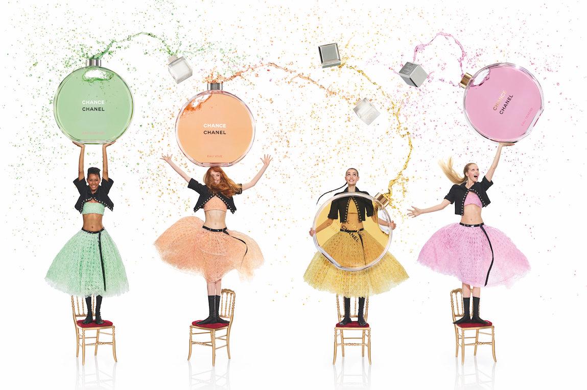 Chanel revela la campaña publicitaria de la nueva fragancia de Chance