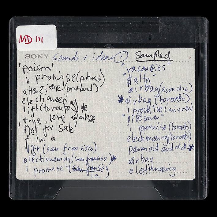 radiohead minidisc