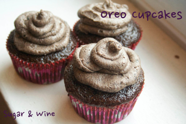 Oreo Cupcakes | Sugar and Wine