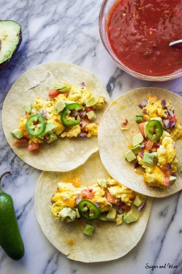 California Breakfast Tacos | Sugar and Wine