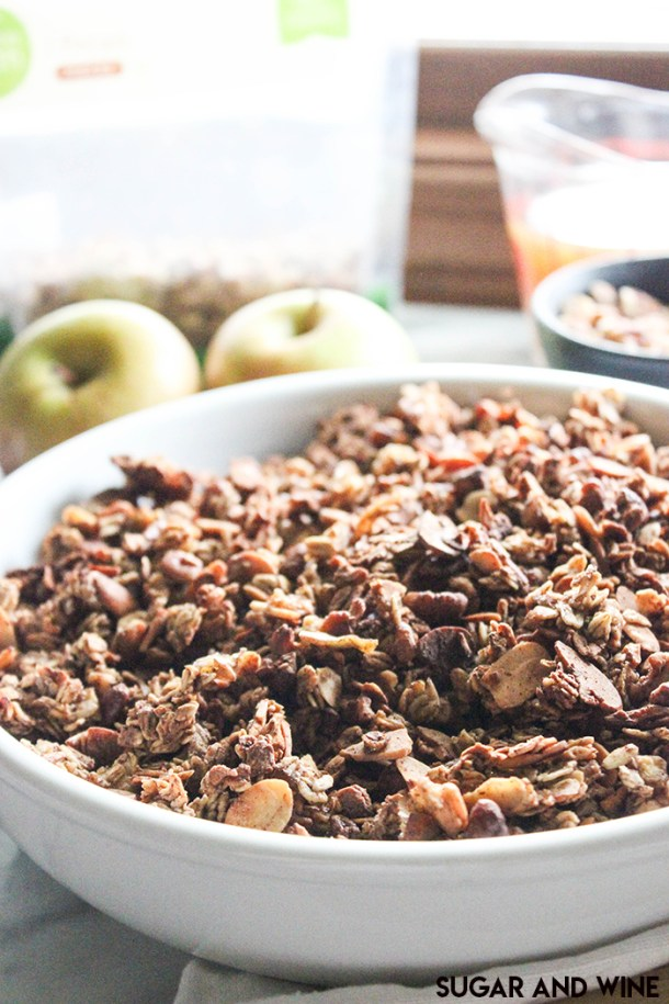 Apple Cider Granola | Sugar and Wine