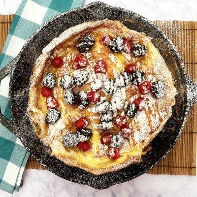 Puffy German Pancake Recipe
