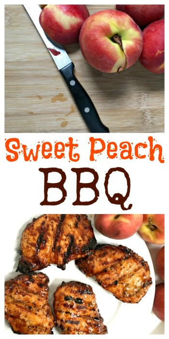 Peach BBQ Sauce Recipe on www.sugarbananas.com