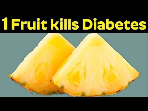 One Fruit That Kills Diabetes Permanently    Cure Diabetes Naturally At Home