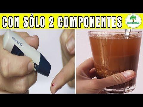 Con Sólo 2 Ingredientes Disponibles en su Cocina, Matando la DIABETES