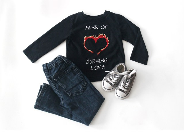 Custom Valentines shirts for women and children. Created with the Cricut to see all the details visit www.sugarcoatedhousewife.com