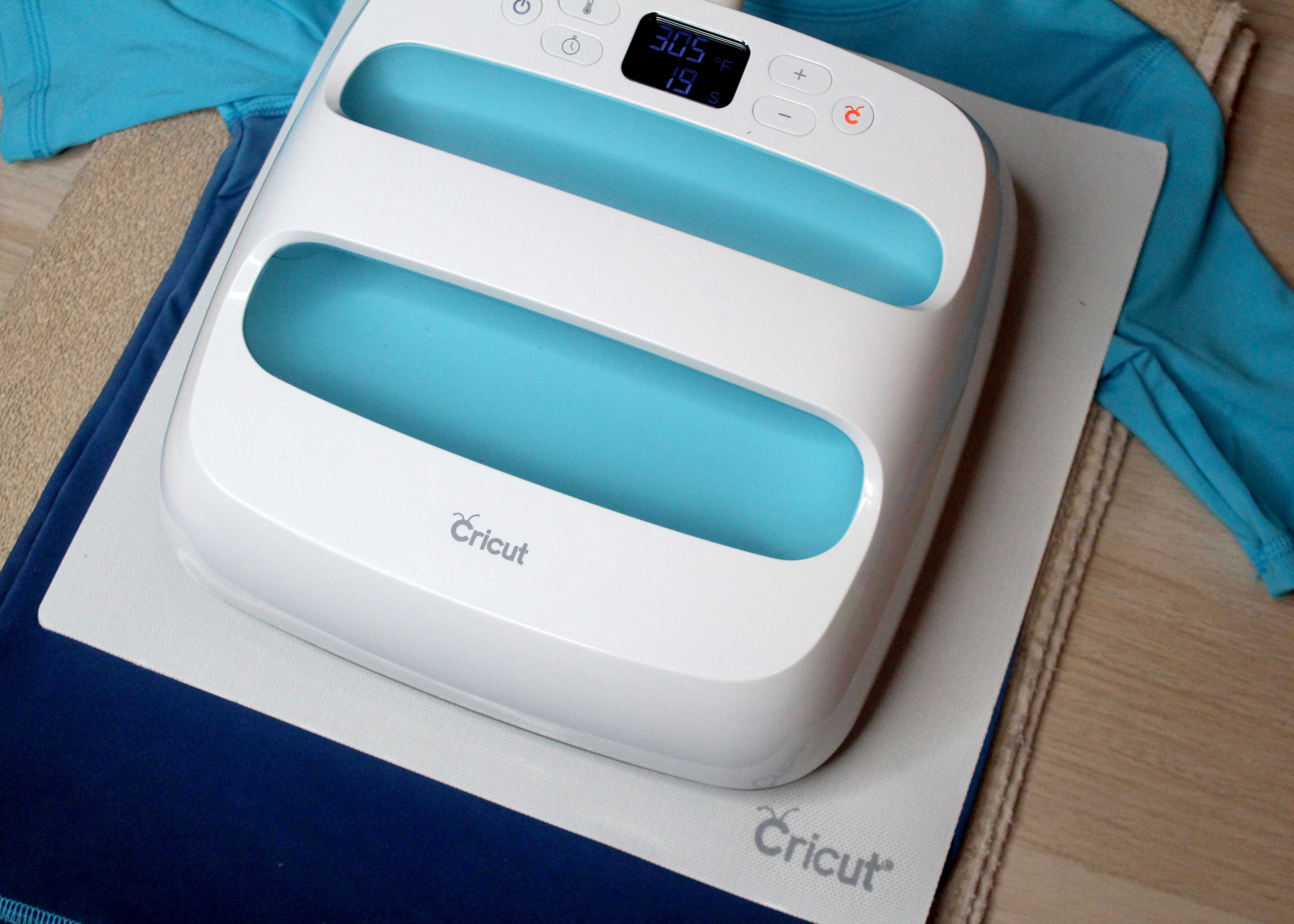 Give those rash guards a personal touch with Cricut's new Sportflex Iron-On. Get all the details and project link at sugarcoatedhousewife.com