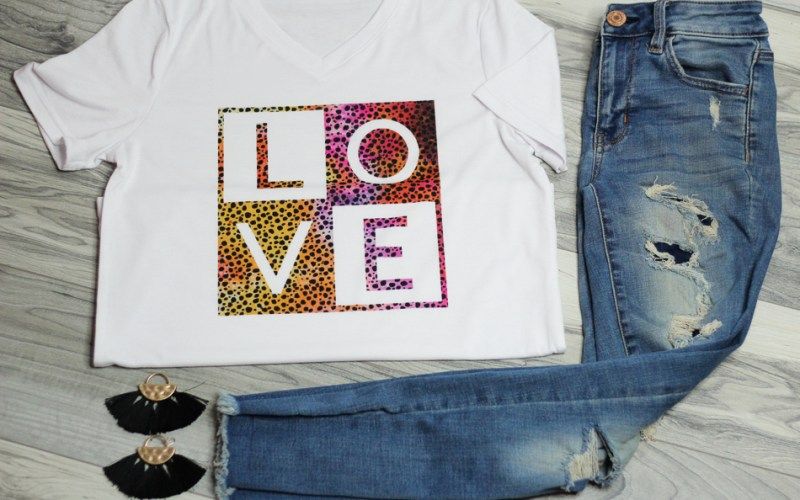 DIY Womens Valentine Shirt