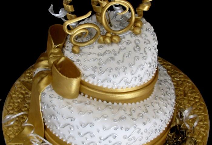 50 Golden Years Of Living Birthday Cake Cake Studio Botswana