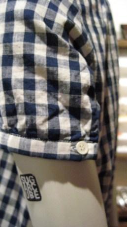APC   Hamilton Gingham Dress   Cotton   $235    Vintage Wood Bead Necklace   $48