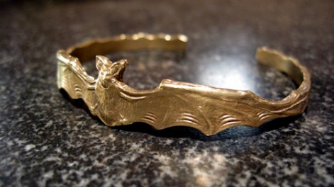 Small Flying Bat Cuff