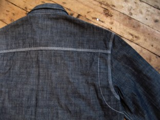 1920's Chambray Work Shirt