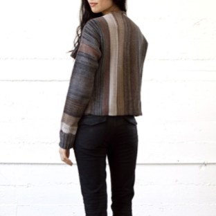 Goddis Likko knit jacket in Clifton