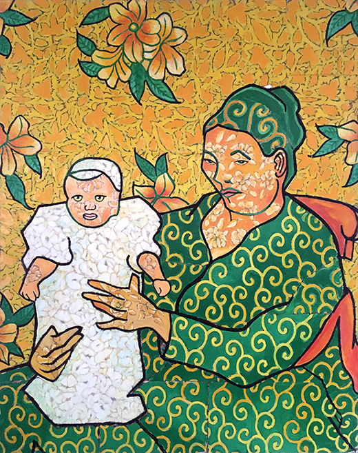 Jack Gibons_Van Gogh's Portrait of Madame Roulin and her Baby, 1992 01
