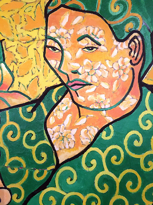 Jack Gibons_Van Gogh's Portrait of Madame Roulin and her Baby, 1992 02