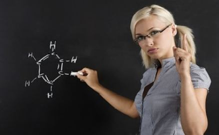 hot chemistry teacher