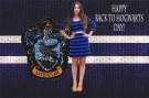 Ravenclaw Inspired Blue Stripe Dress