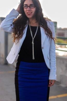 Blazer, Business, Outfit, Pencil Skirt