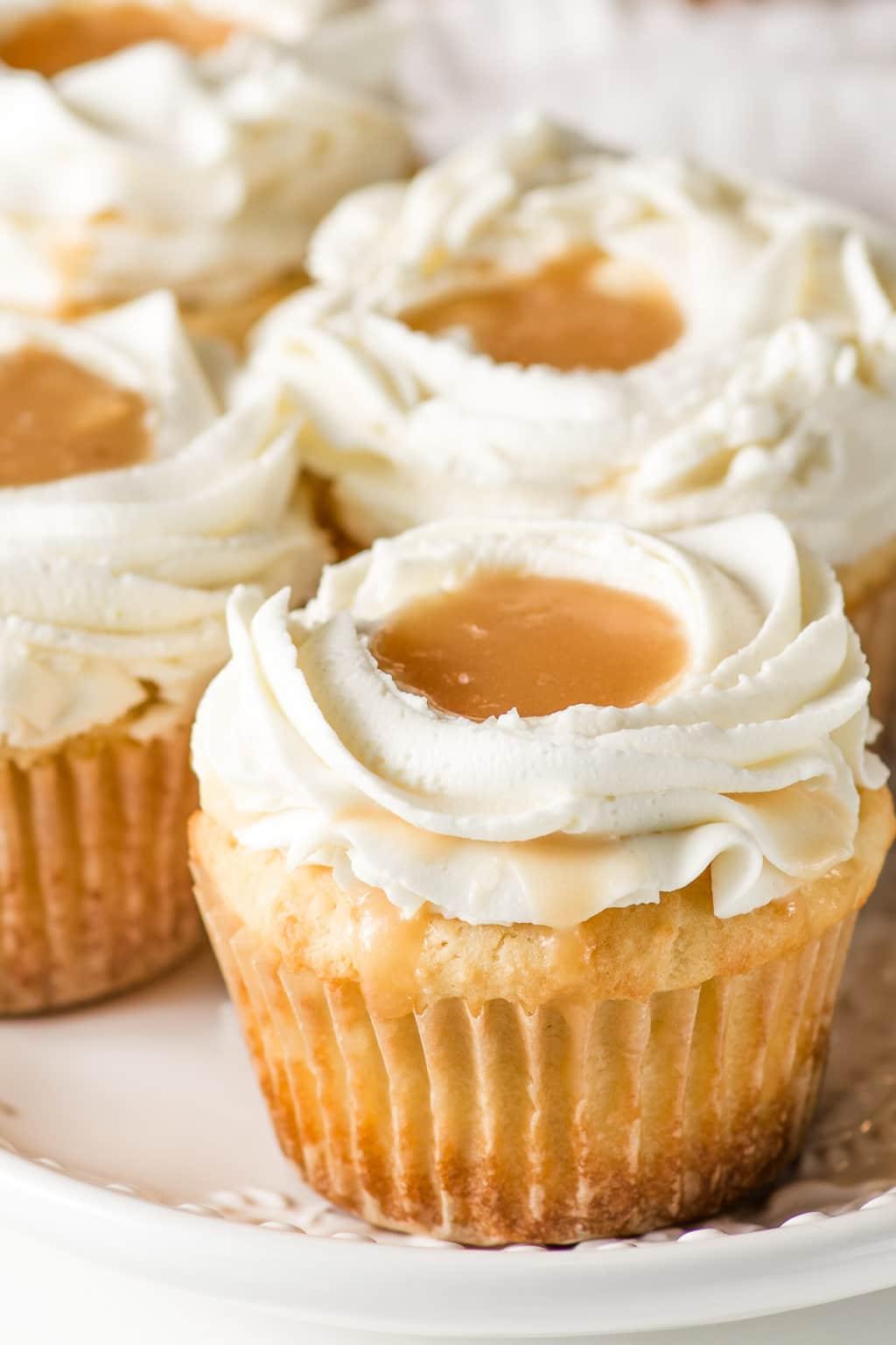 Keto Caramel Cupcake