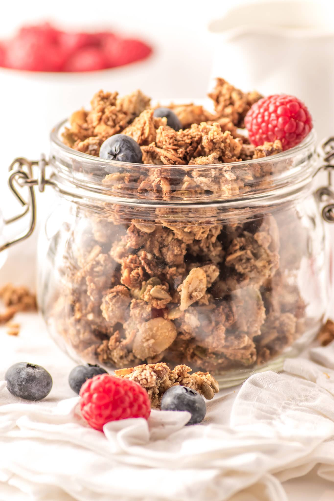 Low-carb Maple Spiced Granola
