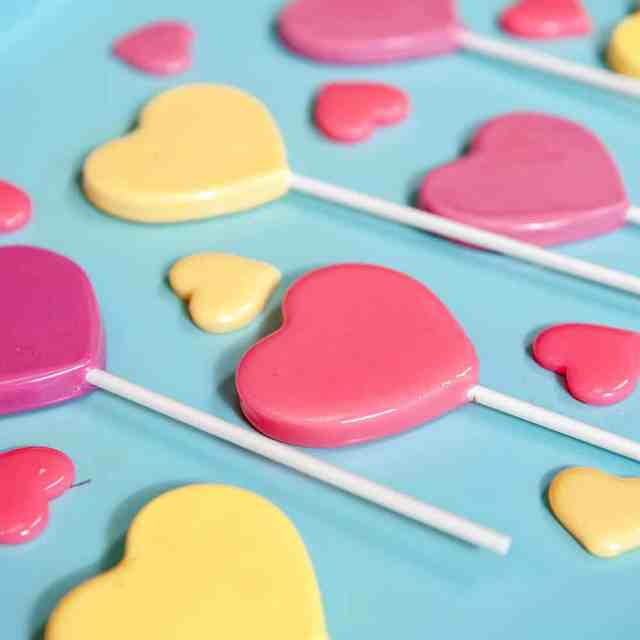Homemade Heart Lollipops Recipe + Video  Sugar Geek Show